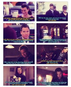 Housekeeping Commentary // NCIS