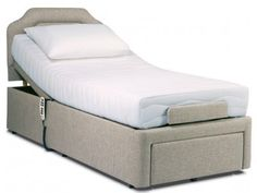 Sherborne Dorchester Head and Foot Single Adjustable Bed from £1,050.00