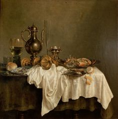 Willem Claesz Heda - Breakfast with a Lobster