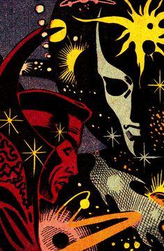 Doctor Strange & Eternity(Strange Tales #138, November 1965) - Steve Ditko