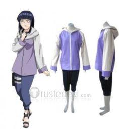 Naruto Shippuden Hinata Hyuga Girl Cosplay Costume $65.99