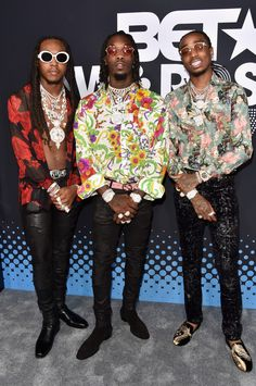 Reflecting on Migos' rise to chart-topping rap trio and their pristine studio effort 'Culture. Cute Halloween Nails, Halloween Nail Designs, Halloween Halloween, Migos Quavo, Estilo Hip Hop, Winter Outfits, Casual Outfits, Black Nail Designs, Gucci Mane