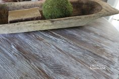 annie sloan restoration hardware   There are a few things you need to achieve this weathered wood look ...