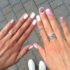 Сладенькие #ногти #маникюр #педикюр #шеллак #гельлак #лак #ноготочки #моикоготочки #накрасилась #nail #nails #schellak #nailbest #bestnails #fornails #фоторук #наиларт #nailsgram #nailsdesign #дизайн #мода #литье #френч #градиент #праздник #красота #2016 by for.nails