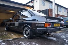 Click the link to see more pics and details of this Immaculate 1980 Ford Escort Rs 2000 Custom Black Classic Fords For Sale, Ford Classic Cars, Escort Mk1, Ford Escort, Ford Rs, Car Ford, Ford Motorsport, Damaged Cars, Classic Car Insurance