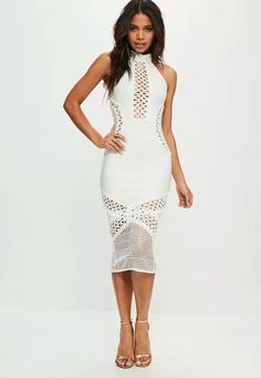 All White Party Dresses 4bdcd22c4be2