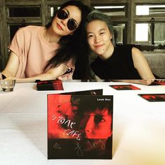Leah Dou, daughter of China's diva Faye Wong, has made a rare public appearance with her mother while promoting her debut English album Stone Cafe over the weekend.  http://www.chinaentertainmentnews.com/2016/04/leah-dou-debuts-diva-mom-shows-support.html