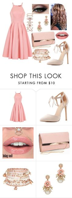 """Untitled #977"" by princesslamisah ❤ liked on Polyvore featuring Chi Chi, Charlotte Russe, New Look, Accessorize and Tiger Mist"