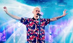 Olly Alexander during Years & Years set at Latitude Festival (19/07/2015)