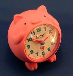 Piggy Clock. I like pigs