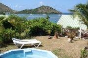 COSY PARADIS avec petit bassin vue mer a Saint-Martin - Location Bungalow #SaintMartin #CuldeSac