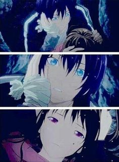 (Noragami) I love how this show is goofy and sometimes ridiculous, but is still able to snap out of the silliness, hunker down, get serious, and make really wonderful, epic things happen. Alright. I'm done. Goodnight.
