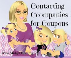 Contacting Companies for Coupons