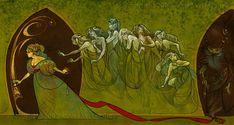 Once Upon A Blog...: Bluebeard Illustration Roundup - Bluebeard by littlecrow (Ashley Vercekaites)