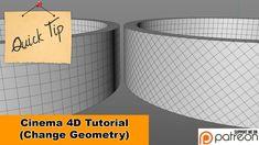 Change Geometry (Cinema Quck Tip) Vfx Tutorial, Cinema 4d Tutorial, Design Thinking, Design Ios, Graphic, Geometry, Change, Experience, Tips