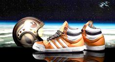buy online 741a7 6122e Adidas Jeremy Scott Star Wars Luke Skywalker Orange Original 1st Edition    eBay