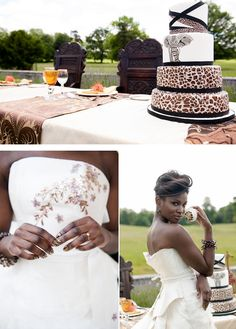 An amazing African inspiration shoot from Bridal Musings illustrates how beautiful traditional wedding decor can be! African Wedding Theme, African Theme, African Wedding Dress, African Dress, African Cake, Wedding Dresses, Afro, Wedding Bells, Wedding Bride