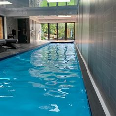 Indoor shipping container swimming pool - brand new and with filtration plant & decking Pleased to s Shipping Container Swimming Pool, Pool Companies, Pool Service, Pool Installation, Pool Lounge, Indoor Swimming Pools, Pool Days, Amazing Spaces, In Ground Pools