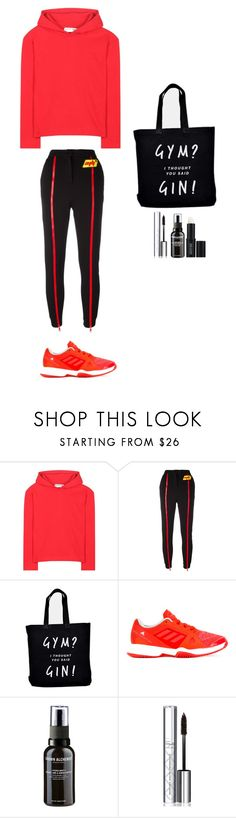 """""""Style #262"""" by maksimchuk-vika ❤ liked on Polyvore featuring Balenciaga, Au Jour Le Jour, Ellie Ellie, adidas, Grown Alchemist, By Terry and Lord & Berry"""
