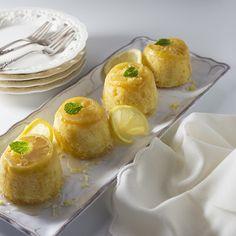 Little Lemon Syrup Cakes