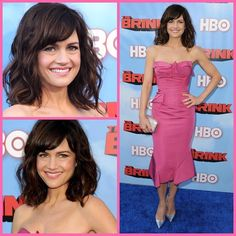 Obsessed with this beauty! @carlagugino at #thebrink premiere styling @highheelprncess (that @zac_posen is everything!) makeup @rachel_goodwin and textured wavy hairs by me!