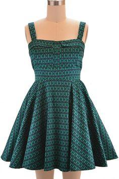 Ixia Fold Over Bust Sun Dress