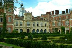 The south front of Hatfield House, Hatfield, UK