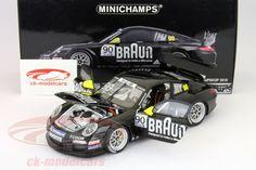 Porsche 911 GT3 Cup, Porsche Supercup 2010, No.90, Lester / Verdonck / Walter / Lauda / Meadows. Minichamps, 1/18. Price (2016): 90 EUR.