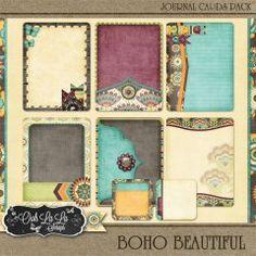 Boho Beautiful Journal Cards Pack