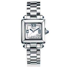 Chopard Women's 27/8349-23 Happy Sport Diamond Watch