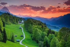 Garmisch-Partenkirchen, Bavaria, Germany, from 'The 30 Most Beautiful Small Towns In The World. Is An Amazing Secret! Places To Travel, Places To See, Hidden Places, Places Around The World, Around The Worlds, Beautiful World, Beautiful Places, Wonderful Places, Beautiful Pictures