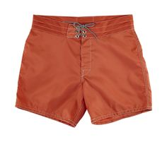 A legend for more than 50 years, Birdwell Beach Britches are available in a variety of styles, sizes and colors; these Men's Board Shorts 310 are in Paprika. Mens Boardshorts, Beach, Swimwear, Style, Colors, Products, Fashion, Red Peppers, One Piece Swimsuits