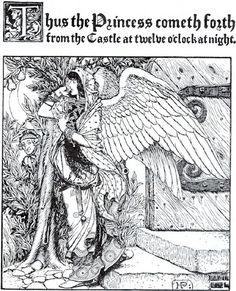 Howard Pyle's King Stork  Google Image Result for http://www.linesandcolors.com/images/2006-05/pyle_450.jpg