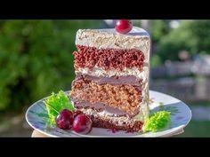 🥜Truffle cake🍫 - I - Tortodel! Cake Truffles, Chocolate Hearts, Tiramisu, Cake Recipes, Cake Decorating, Food And Drink, Pudding, Candy, Ethnic Recipes