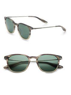 0bd0ac2ce4 Barton Perreira - Dean Acetate   Metal Sunglasses