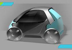 Delivery Robot, Factory Design, Smart Car, City Car, Futuristic Cars, Car Sketch, Automotive Design, Electric Cars, Concept Cars