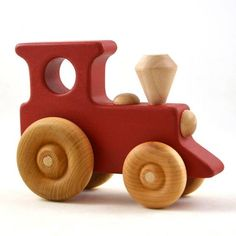 Personalized Toy Train Choose Any Color Wooden Toy Train Wooden diy - Wooden crafts - Wooden toys - Wooden Toy Train, Wooden Toy Cars, Wood Toys, Woodworking School, Woodworking Toys, Woodworking Projects, Making Wooden Toys, Push Toys, Starter Set