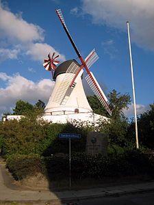 Tuulimylly, Vejle, Tanska,, Denmark