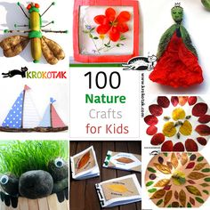 100 Nature Crafts for Kids