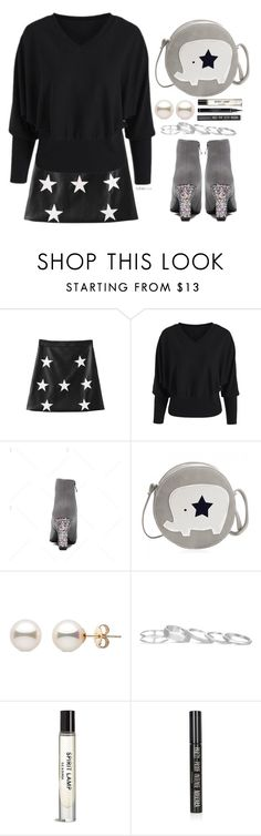 """""""Star ....."""" by simona-altobelli ❤ liked on Polyvore featuring Kendra Scott and Topshop"""
