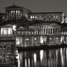 Philadelphia Art Museum and Water Works