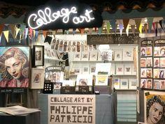 COLLAGE ART by PHILIPPE PATRICIO AT FIARTIL (Estoril) / 05 de Julho até 05 de Agosto Estoril, Torn Paper, Collage Artists, Shape And Form, Lisbon, Postcards, Art Pieces, Photo Wall, Poster