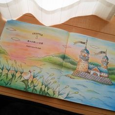 いいね!230件、コメント35件 ― shizuka.Kさん(@shizuzuzu.k)のInstagramアカウント: 「ロマンティックカントリー3  チャプター3 島々の美しい光景  全体☆  やっぱり夕焼けが好きです♡♡ 景色っぽい絵も好き!  #romanticcountry #ロマンティックカントリー…」