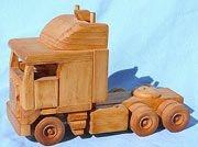 cab over tractor prime mover Plan Plan, How To Plan, Wood Crafts, Diy And Crafts, Wooden Toy Cars, Wood Toys Plans, Woodworking Toys, Toy Trucks, Diy Toys