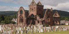 Sweetheart Abbey in the South West