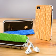 Keep your cables tidy, magnetically mount your iPhone on a wall and provide a portable kickstand for hands free use.