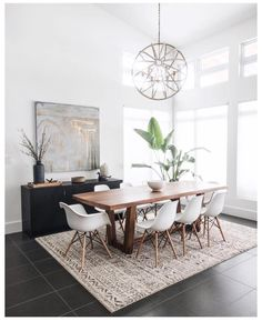 4 Principles for Creating the Perfect Dining Room - Jessica Elizabeth Dining Room Decor dining room decor Dining Room Wall Decor, Dining Room Lighting, Dining Room Design, Decor Room, Room Lamp, Dining Room Modern, Small Dining, Modern Living, Decor Diy