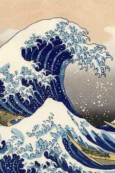 Great Wave of Kanagawa - surfs up dude