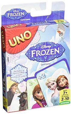Disney Frozen Uno Card Game 112 Cards Kid Mattel Olaf Elsa Anna Movie Fun for sale online Uno Card Game, Card Games, Fun Games, Games To Play, Frozen Cards, Frozen Activities, Disney Games, Disney Jr, Disney Stuff