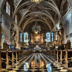https://flic.kr/p/yhWKbV | St. Barbara Church, Kraków | XIV gothic church with XVIII century interior